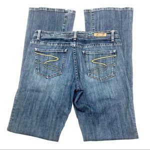 Seven 7 Flare Leg Jeans, Size 29, EUC